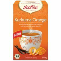 Yogi Bio Tea kurkuma narancs 17 db