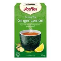 Yogi Bio Tea zöld tea gyömbérrel citrommal 31 g