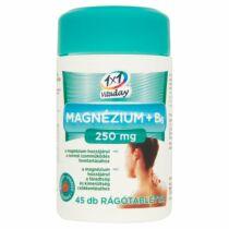 1x1 Vitaday Magnézium+B6 250 mg rágótabletta 45 db