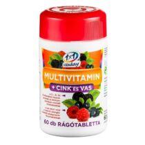 1x1 Vitaday Multivitamin+ Cink+ Vas rágótabletta 60 db