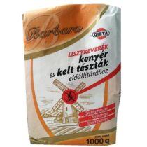 Barbara Gluténmentes lisztkeverék kenyér 1000 g