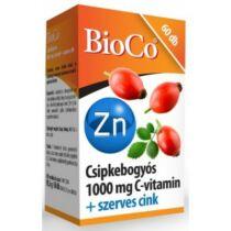 BioCo Csipke C-vitamin 1000 mg + Szerves Cink 60 db