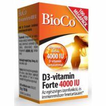 BioCo D3-vitamin forte 4000 IU tabletta 100 db