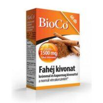 BioCo Fahéj tabletta 60 db