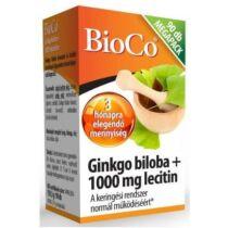 BioCo Ginkgo Biloba+ Lecitin kapszula 90 db