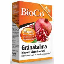BioCo Gránátalma tabletta 80 db