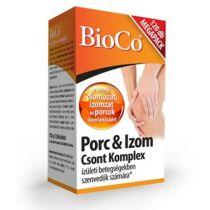 BioCo Porc és Izom csont komplex tabletta 120 db