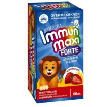 Bioextra Immun maxi forte gyerek szamóca 60 db