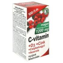 Dr. Chen C-vitamin+ D3+ Cink+ Acerola+ Csipkebogyó 105 db