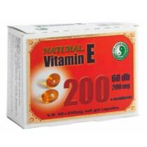 Dr. Chen Natural vitamin E 200 60 db