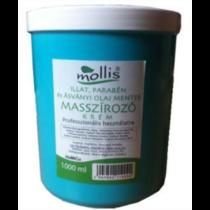 Mollis Masszirozó krém illat-parabénmentes 1000 ml