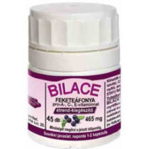 Pharmaforte Bilace feketeáfonya kapszula 45 db