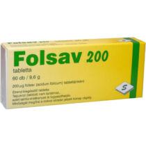 Selenium Pharma Folsav tabletta 60 db