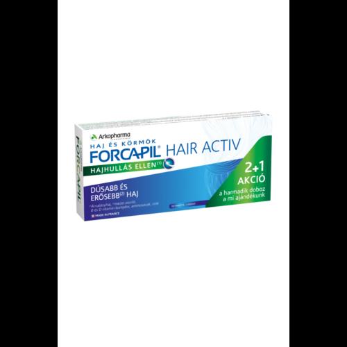 Forcapil Hair aktív hajhulllás elleni kapszula 90 db