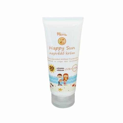 Eco-Z Happy Sun napvédő krém SPF20 100 ml