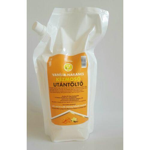 Eco-Z Kézmosó Vanília-Narancs illattal 1000 ml Utántöltő