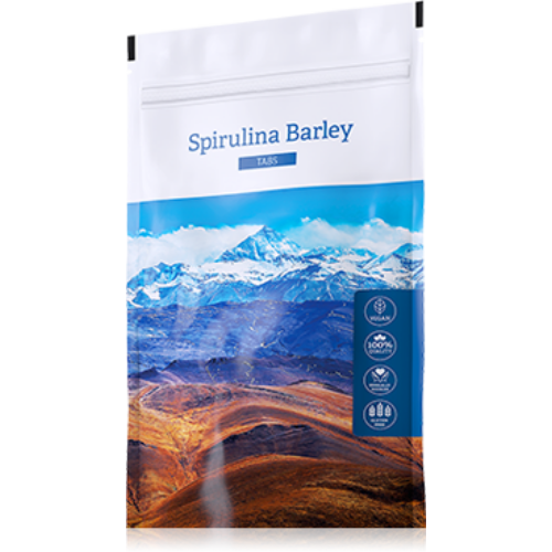Energy Spirulina Barley tabletta 200 db
