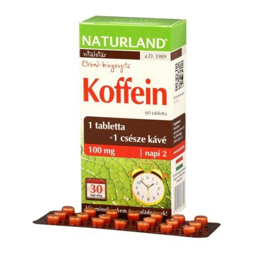 Naturland Koffein tabletta 60 db