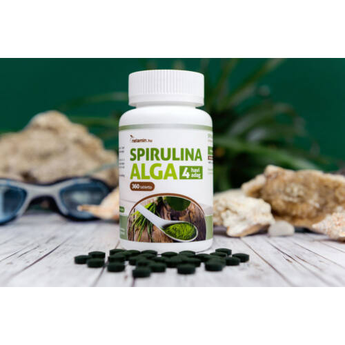 Netamin Spirulina alga tabletta 360 db