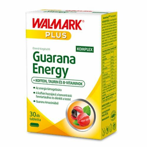 Walmark Plus Guarana energy komplex tabletta 30 db