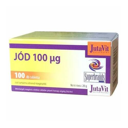 Jutavit Jód tabletta 100 db