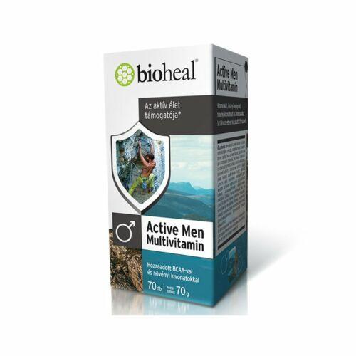 Bioheal Active Men multivitamin tabletta 70db
