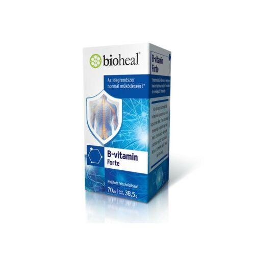 Bioheal B-vitamin forte tabletta 70db