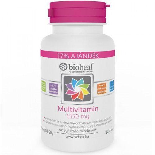 Bioheal Multivitamin 1350 mg tabletta 70db