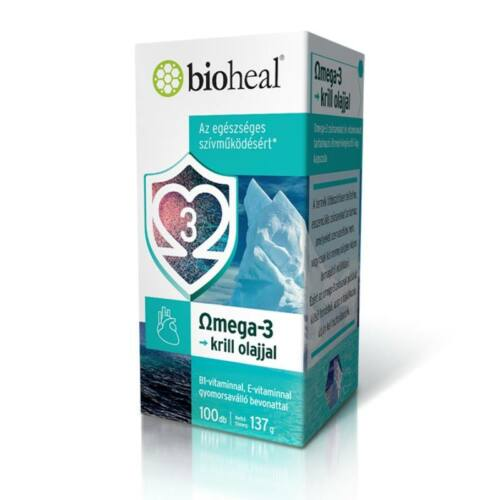 Bioheal Omega-3 krill olajjal kapszula 100db