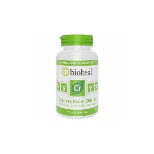 Bioheal Szerves króm 250ug B3-vitaminnal filmtabletta 70db