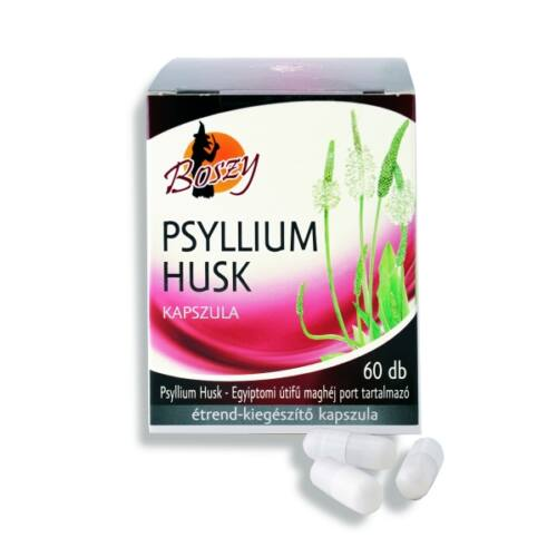 Boszy Psyllium husk egyiptomi utifű maghéj por kapszula 60db
