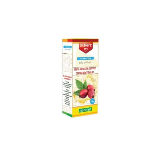 Dr. Herz Csipkebogyóolaj 100% hidegensajtolt 20ml