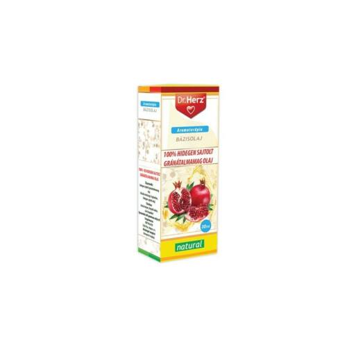 Dr. Herz Gránátalma magolaj 100% hidegensajtolt 20 ml