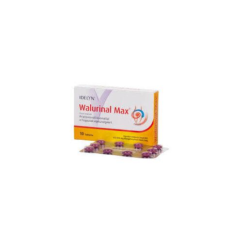 Idelyn Walurinal max aranyvesszővel tabletta 10db