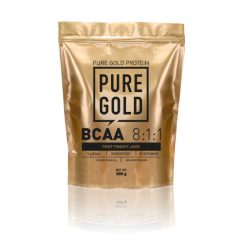 Pure Gold BCAA 811 500g (Fruit Punch)