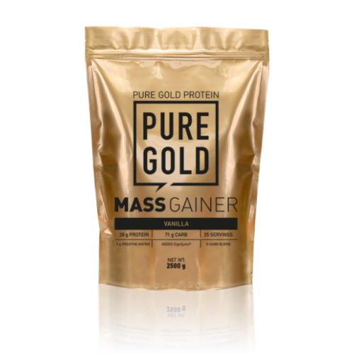 Pure Gold Mass Gainer 2500g (Vanilla)