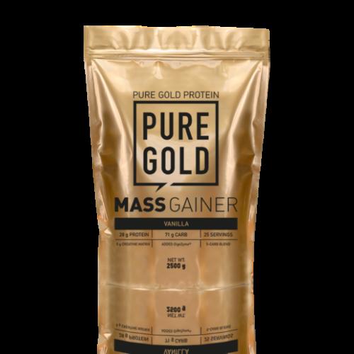 Pure Gold Mass Gainer 2500g (Vanilla)