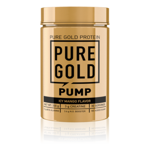 Pure Gold The Pump Pre-workout 330g (Icy Mango)