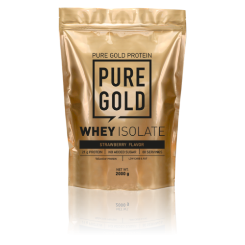 Pure Gold Whey Isolate 2000g (Strawberry)