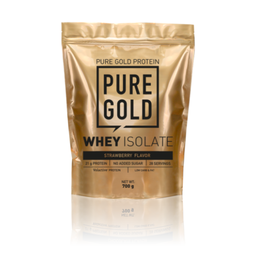 Pure Gold Whey Isolate 700g (Strawberry)