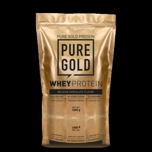 Pure Gold Whey Protein 2300 g (Belga csokoládé)