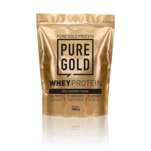 Pure Gold Whey Protein 1000 g (Rice Pudding)