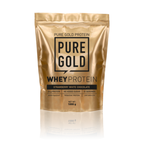 Pure Gold Whey Protein 1000 g (Strawberry White Chocolate)