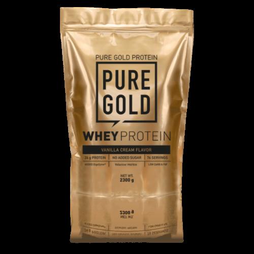 Pure Gold Whey Protein 2300 g (Mogyorós csokoládé)