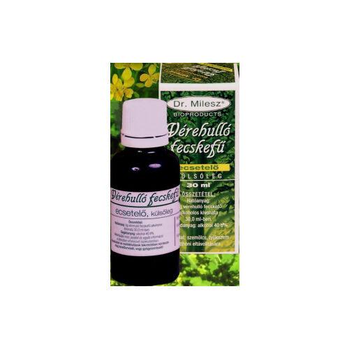 Dr. Milesz Vérehulló fecskefű tinktúra 30 ml