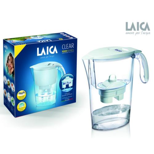 Laica Clear line kancsó + 1 filter fehér 2,3 l