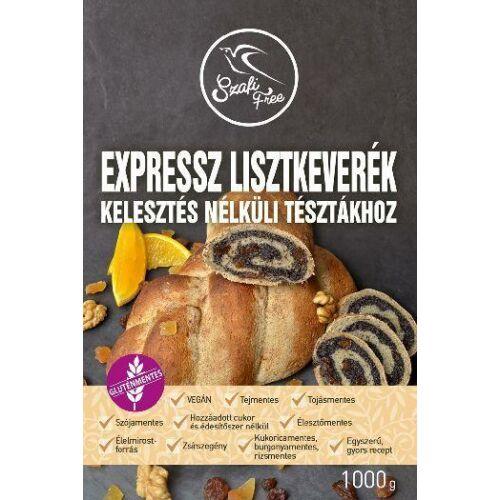 Szafi Free Lisztkeverék expressz kelesztés nélküli tésztákhoz 1000 g