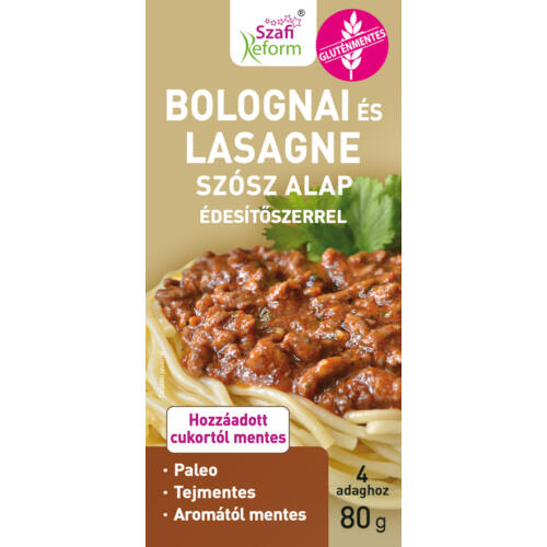 Szafi Reform Alap bolognai és lasagne 80 g