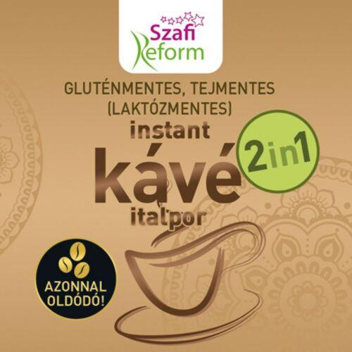 Szafi Reform Instant kávé italpor 2in1 180 g