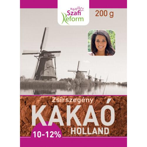 Szafi Reform Kakaópor holland 10-12% 200 g